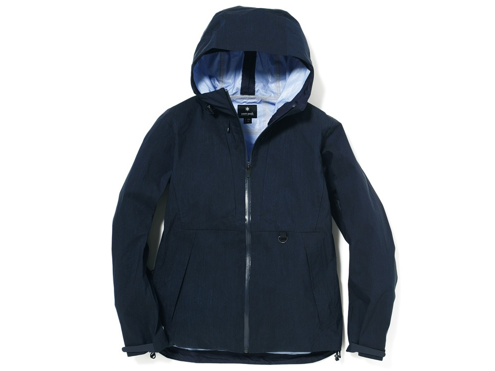 Indigo C/N 3L Rain Jacket M Indigo0