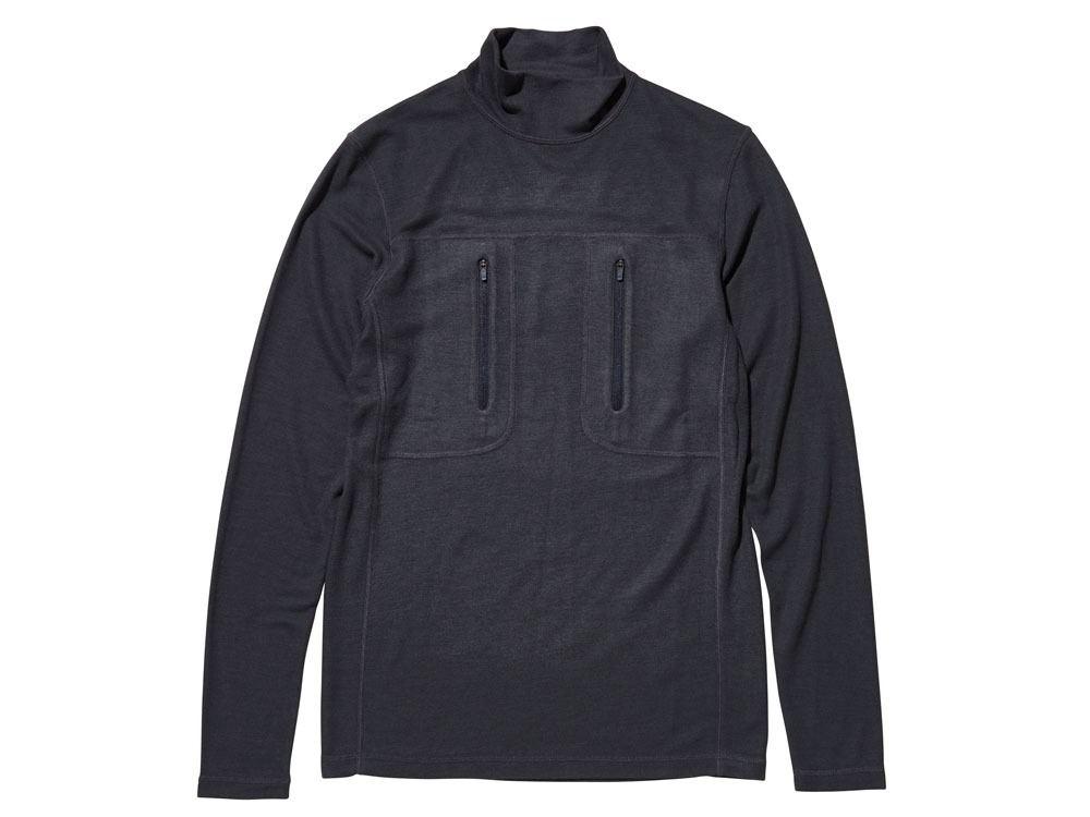 Wool Tactical High Neck M Black0