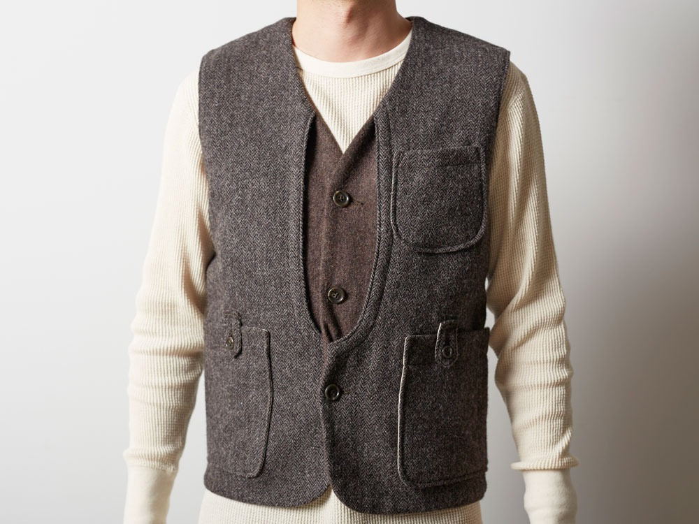 Camping Wool Vest 1 Brown10