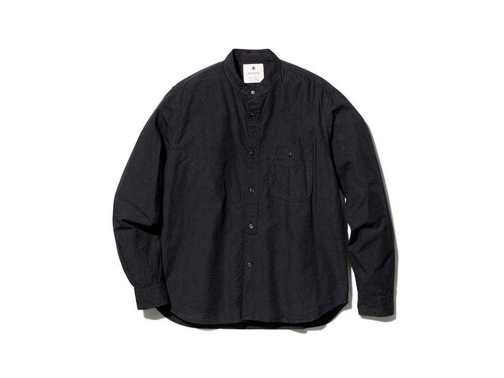 アルティメイトピマ ポプリン スタンドカラー シャツ 1 BK