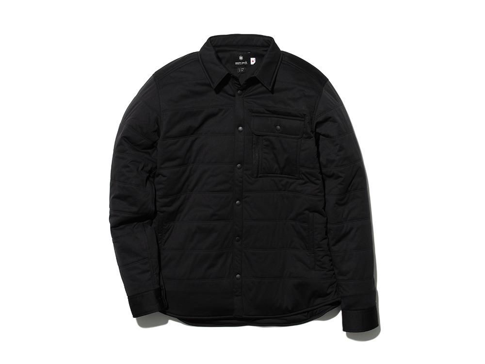 フレキシブルインサレーション シャツ M ブラック