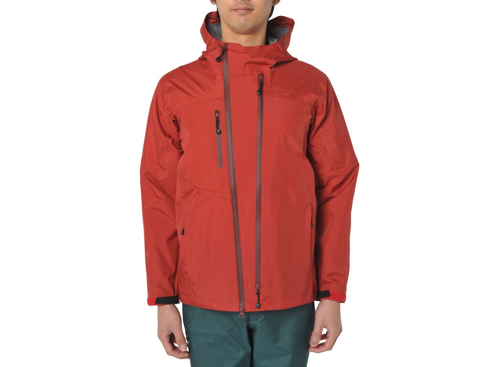 3L Rain Jacket XL Red0