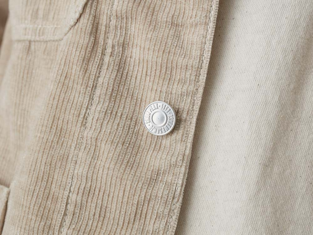 Linen Corduroy Jacket XXL Natural8