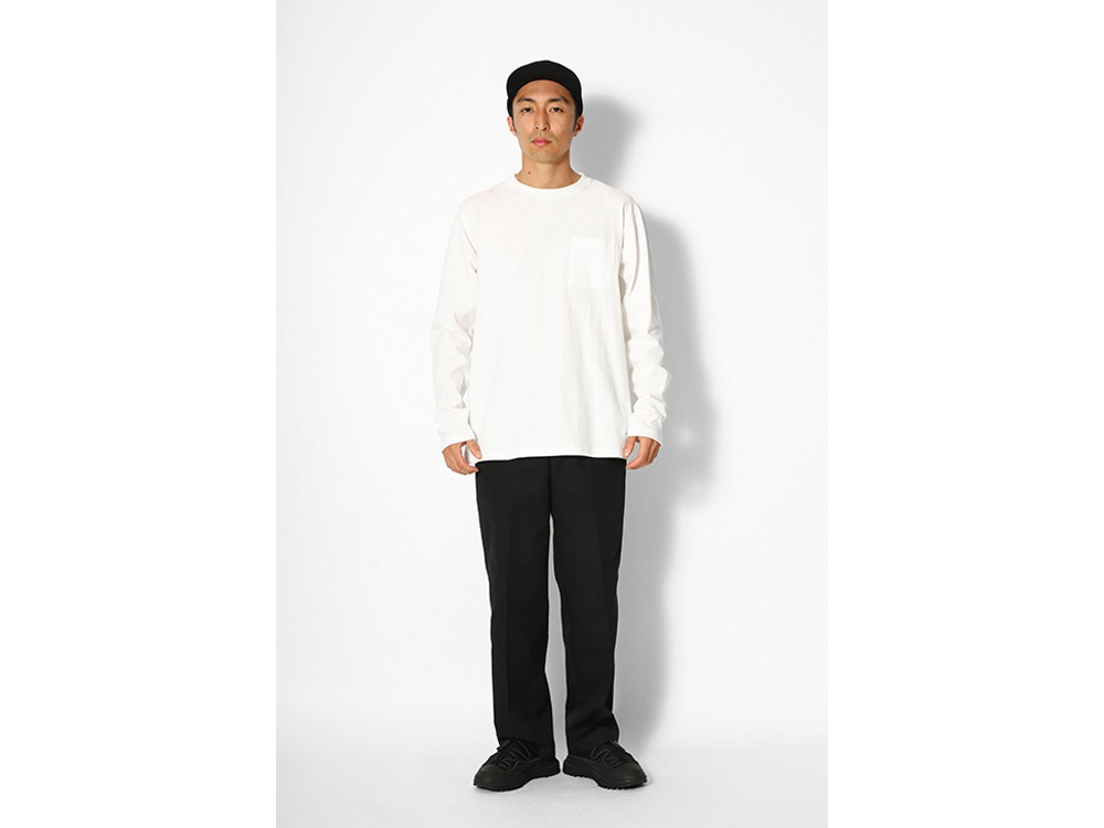 Printed L/S T SP Camping Gear Logo L WH