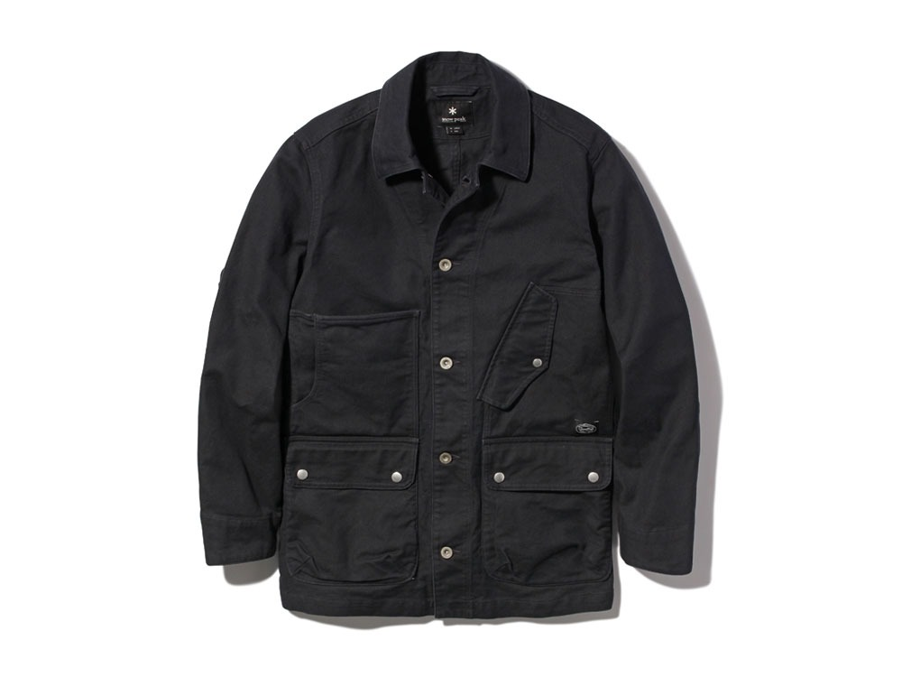 TAKIBI Coverall Jacket L Black0