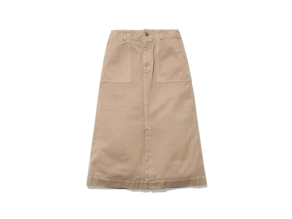Ultimate Pima Drill Skirt 3 Brown