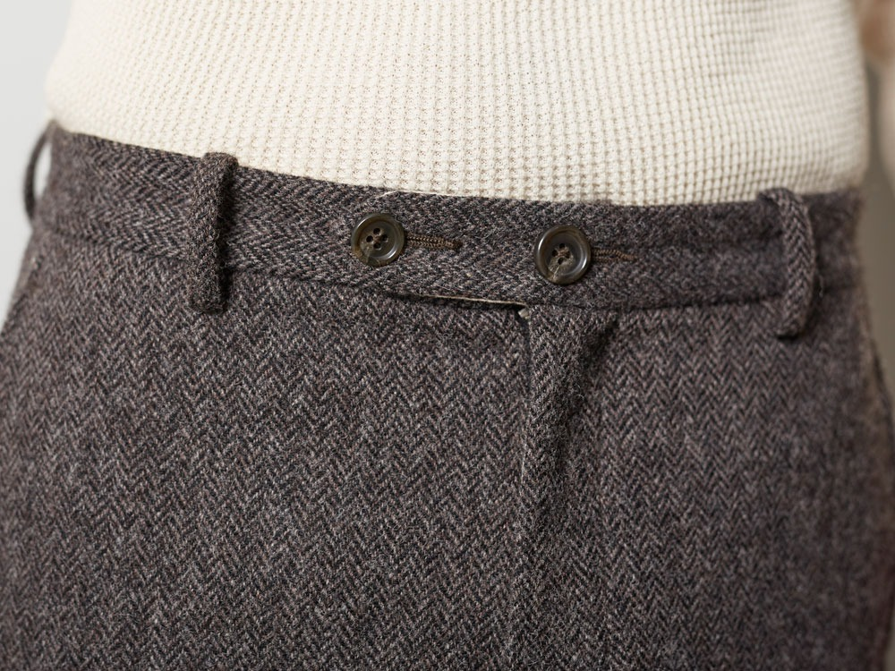 Camping Wool Pants M Brown6