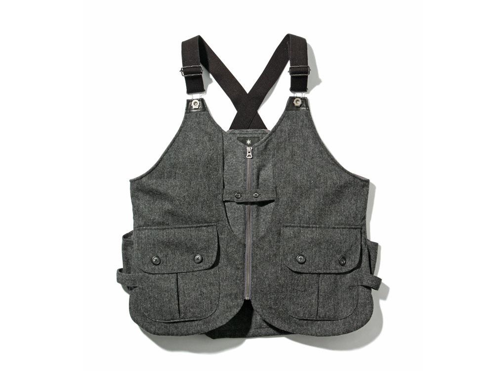 Wool TAKIBI Vest M Grey0