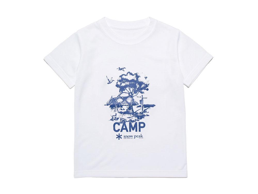 Kid's Printed Tshirt:Camp Field 4 White0
