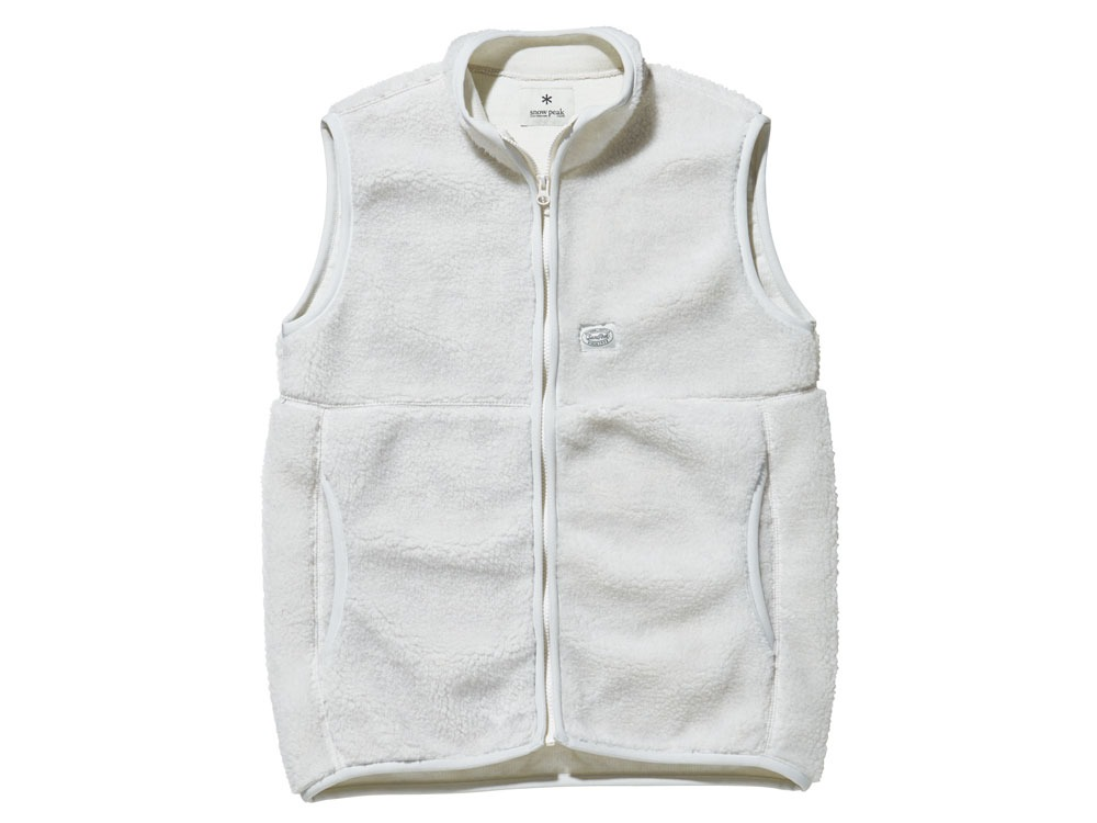 Soft Wool Fleece Vest 1 Oatmeal0