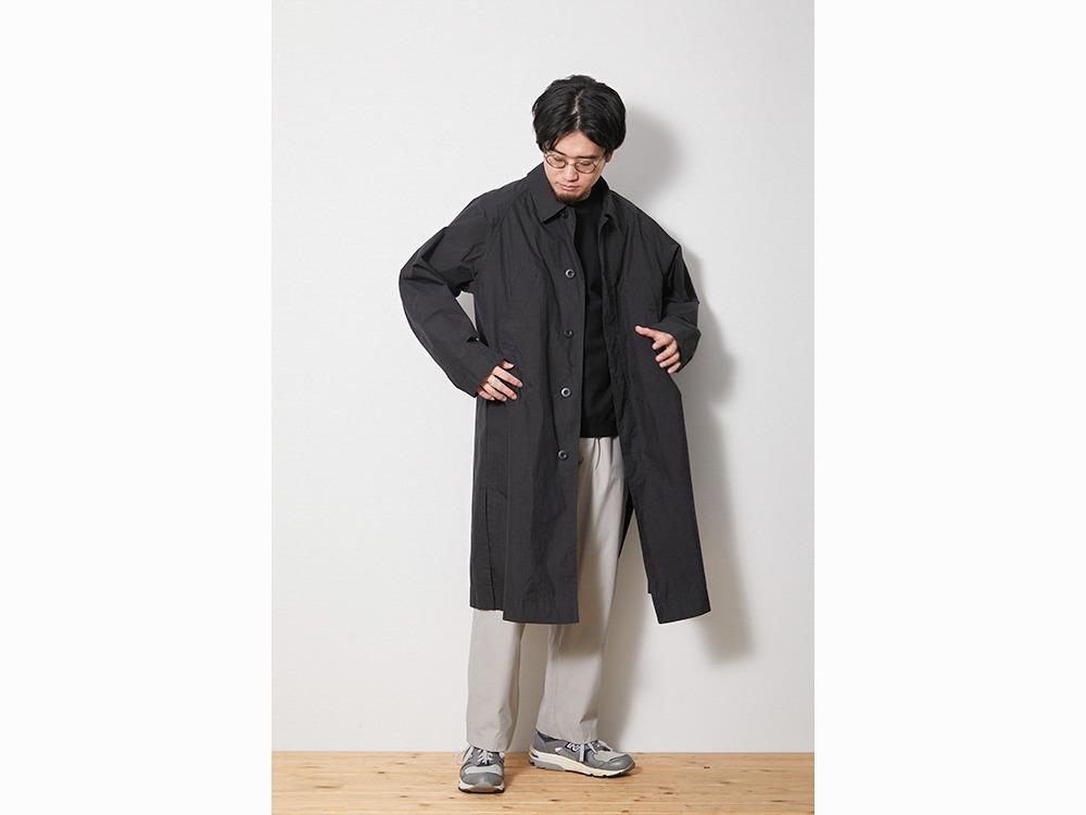 Indigo C/N Trench Coat 1 Black