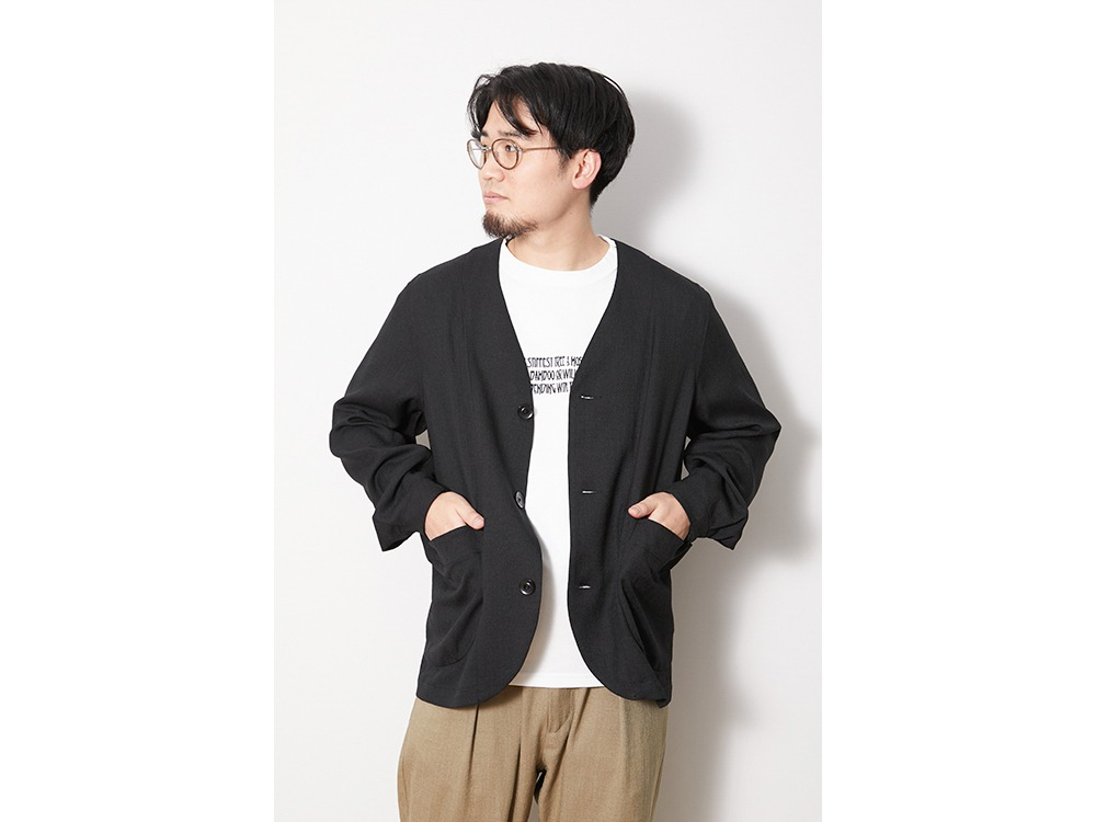 DWR Pe Twill Jacket M Black