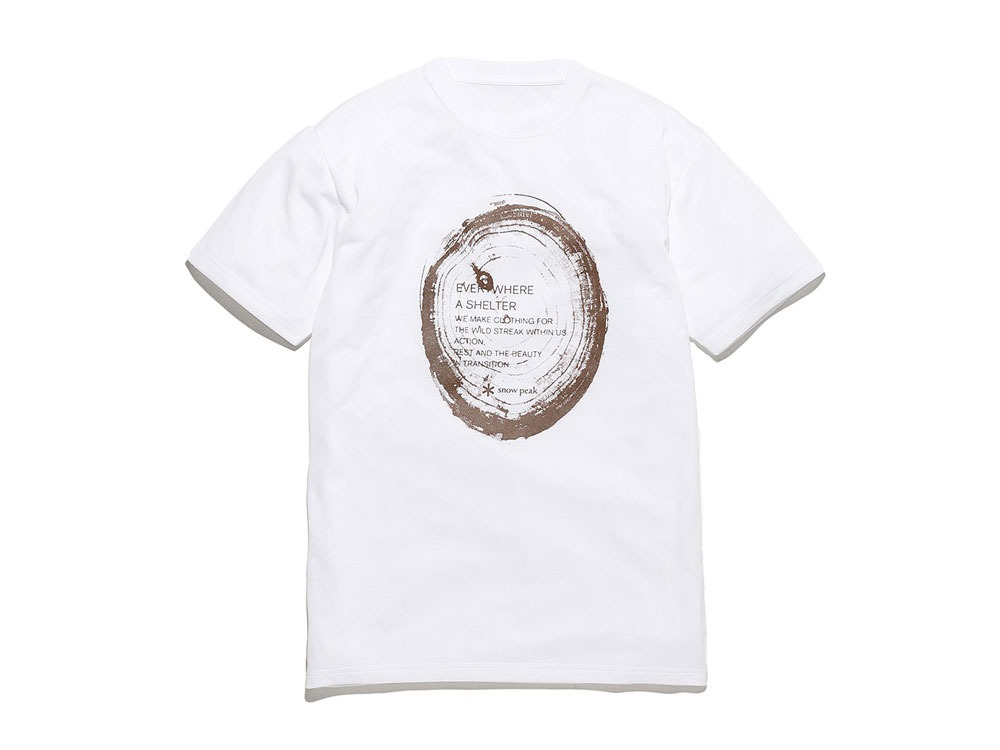 Printed Tshirt:Woodcut 2 White0