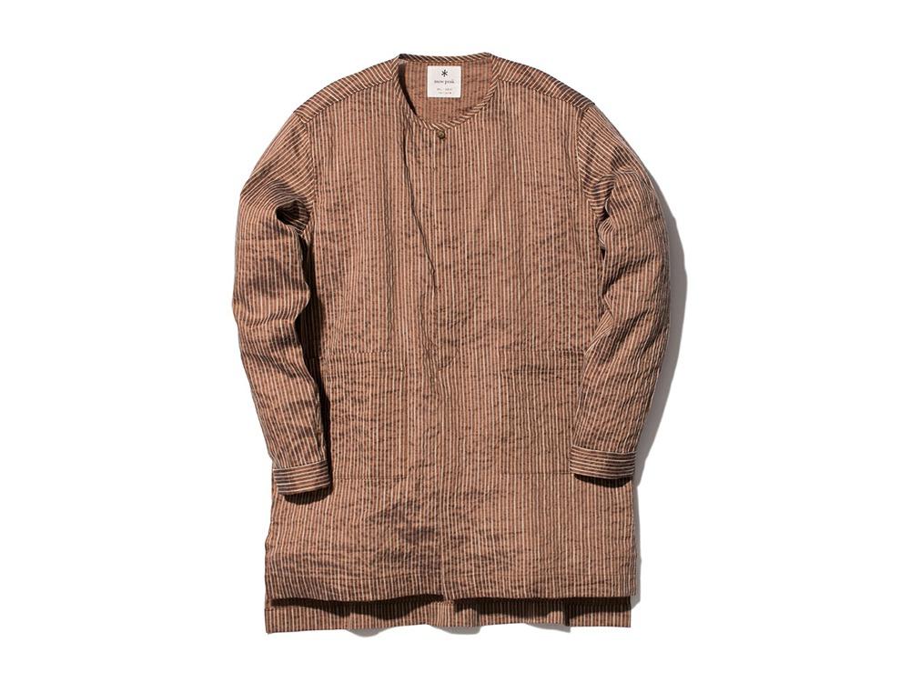 C/R Light Stripe Sleeping Shirt L OR