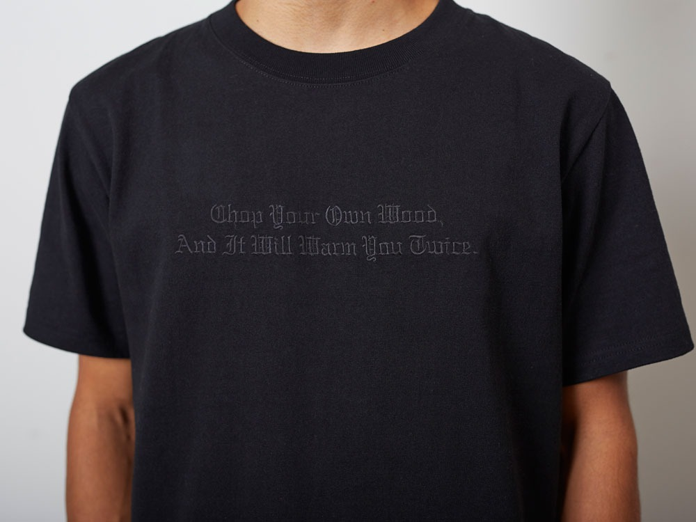 TypographicalTshirt#2 L White4