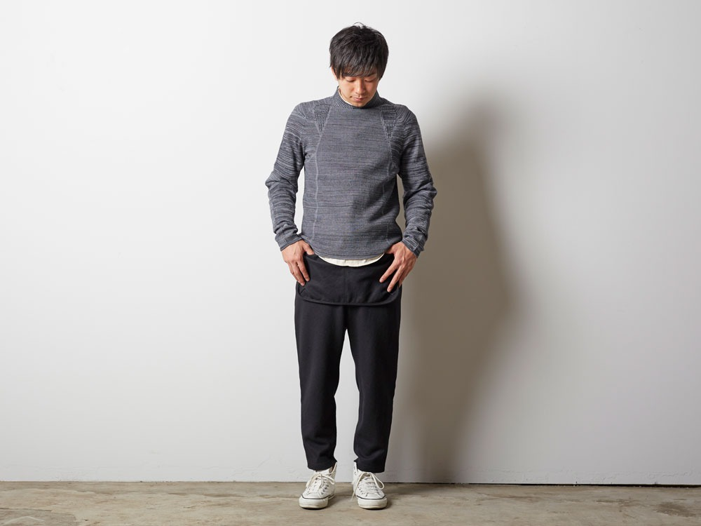 WG Stretch Knit Pullover #2 M Olive1