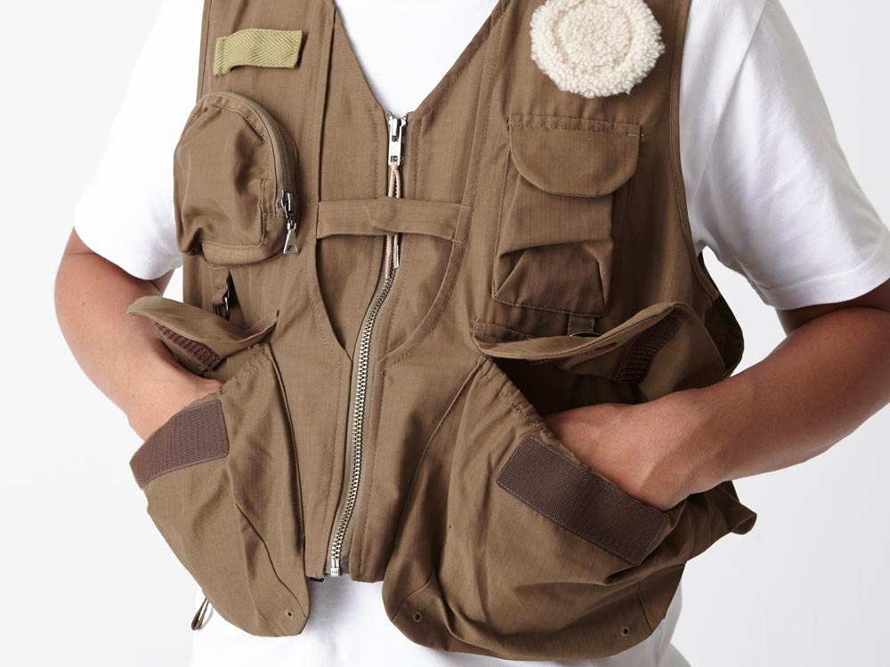 Utility Fishing Vest #2 1 Brown6