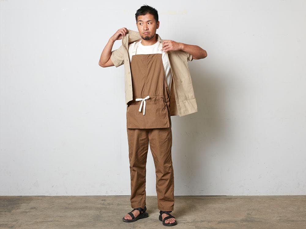 SailorClothAplonOveralls M Brown4