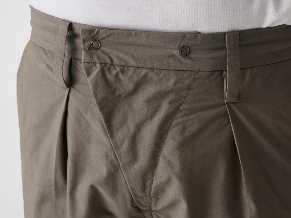 C/N Typewriter Shorts 1 Olive7