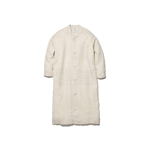 C/L Birdseye Long Shirt 2 Ecru