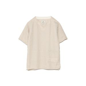 リネンワッフルティーシャツ