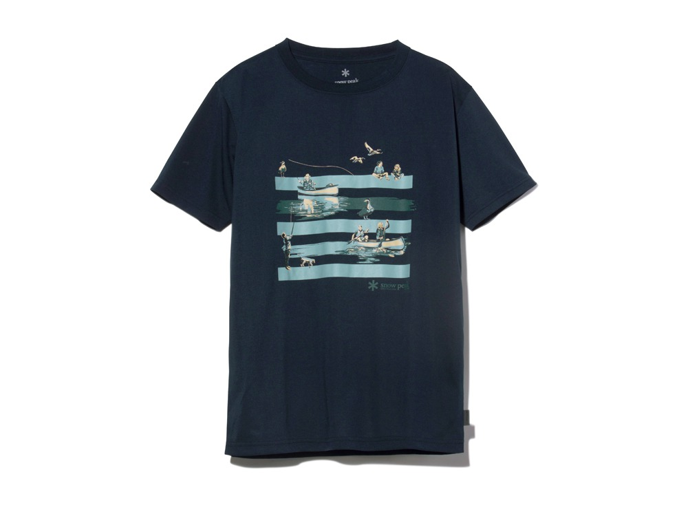 QuickDryTshirt/Field L Navy0