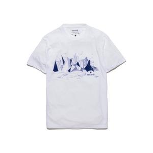 アルプススケッチティーシャツ