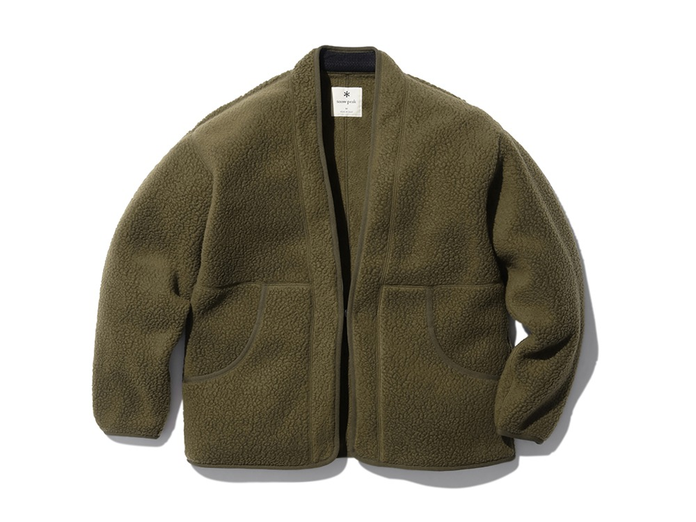 Thermal Boa Fleece Hanten L Olive