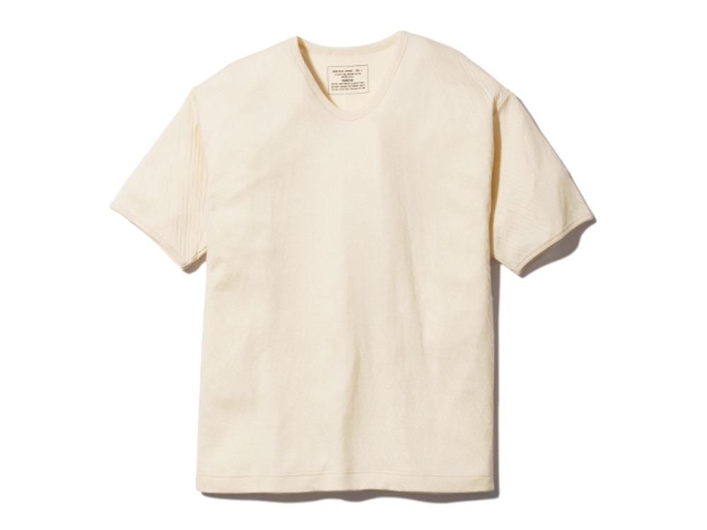 アルティメイトピマ ダブルニット Tシャツ XL ナチュラル