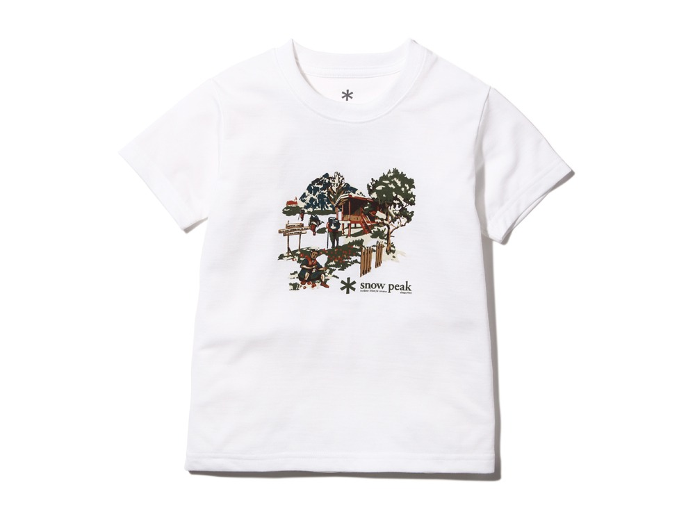 Kid's Campfield Tshirt1White