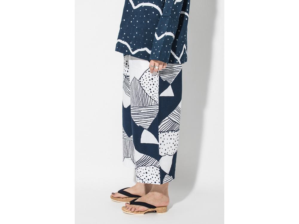 KOHABA PANTS Wide Nihon Batik