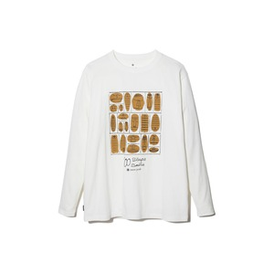 100 Sleep 100 Smile L/S Tee S White