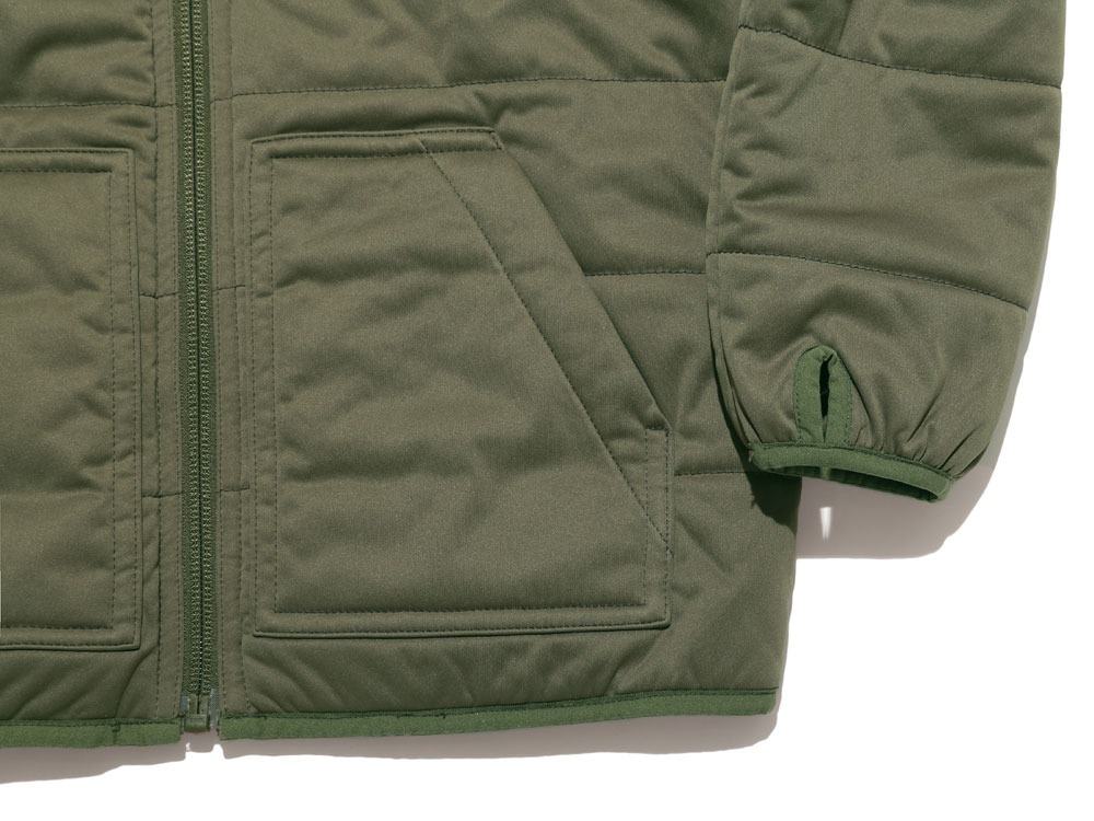 Kids Fx Insulated Hoodie 4 Olive2