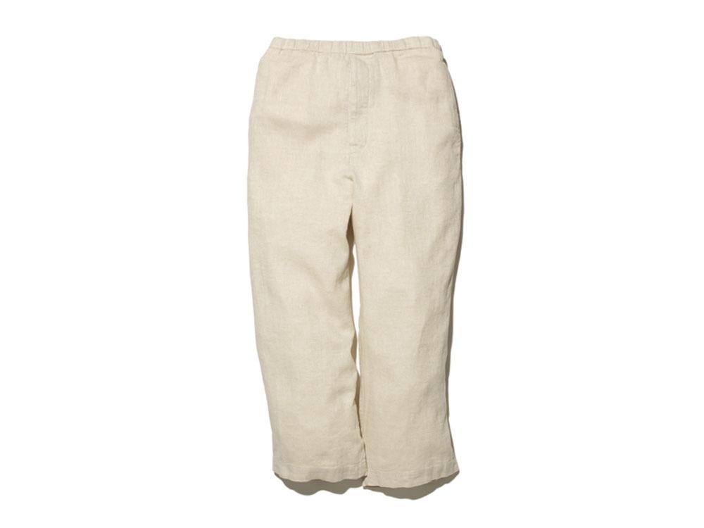 C/L Birdseye Pants 2 Ecru