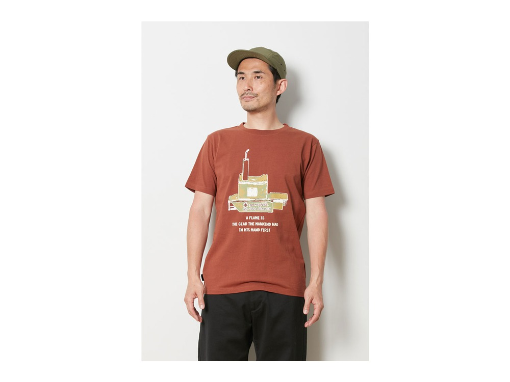 Auto Igniter Tee XL Orange