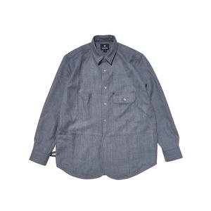 フィールドウールシャツ