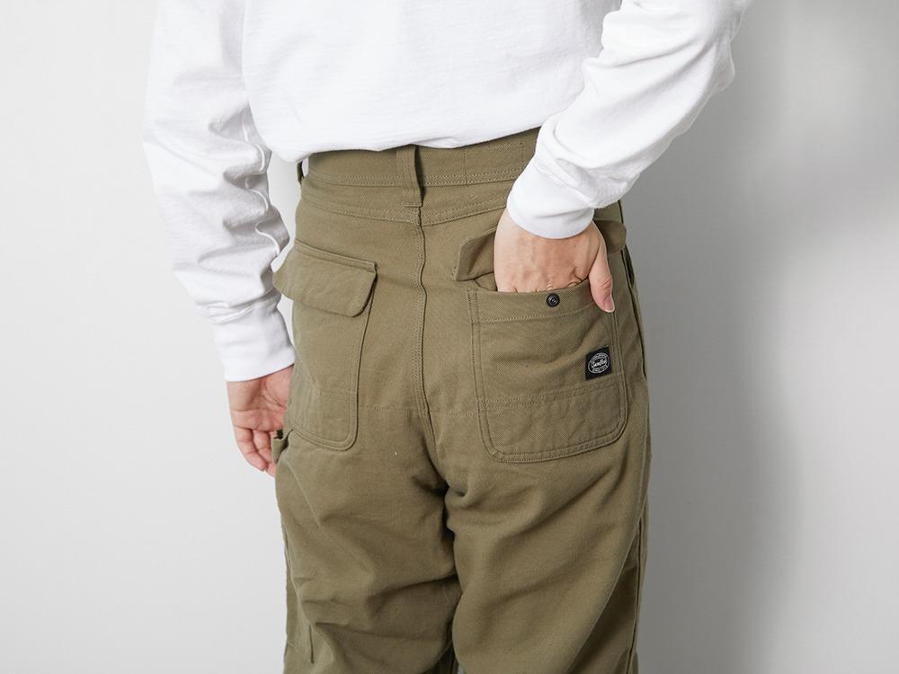 TAKIBI Duck Pants M Olive
