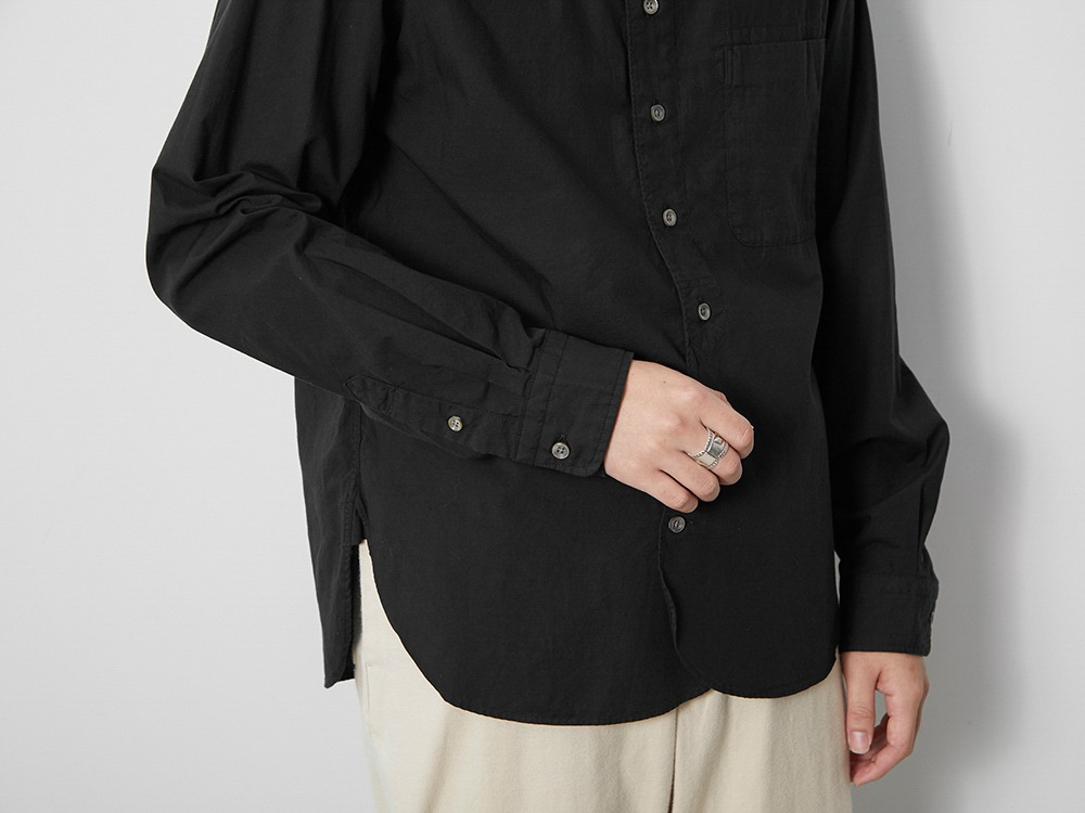 Ultimate Pima Poplyn BD Shirt M Black