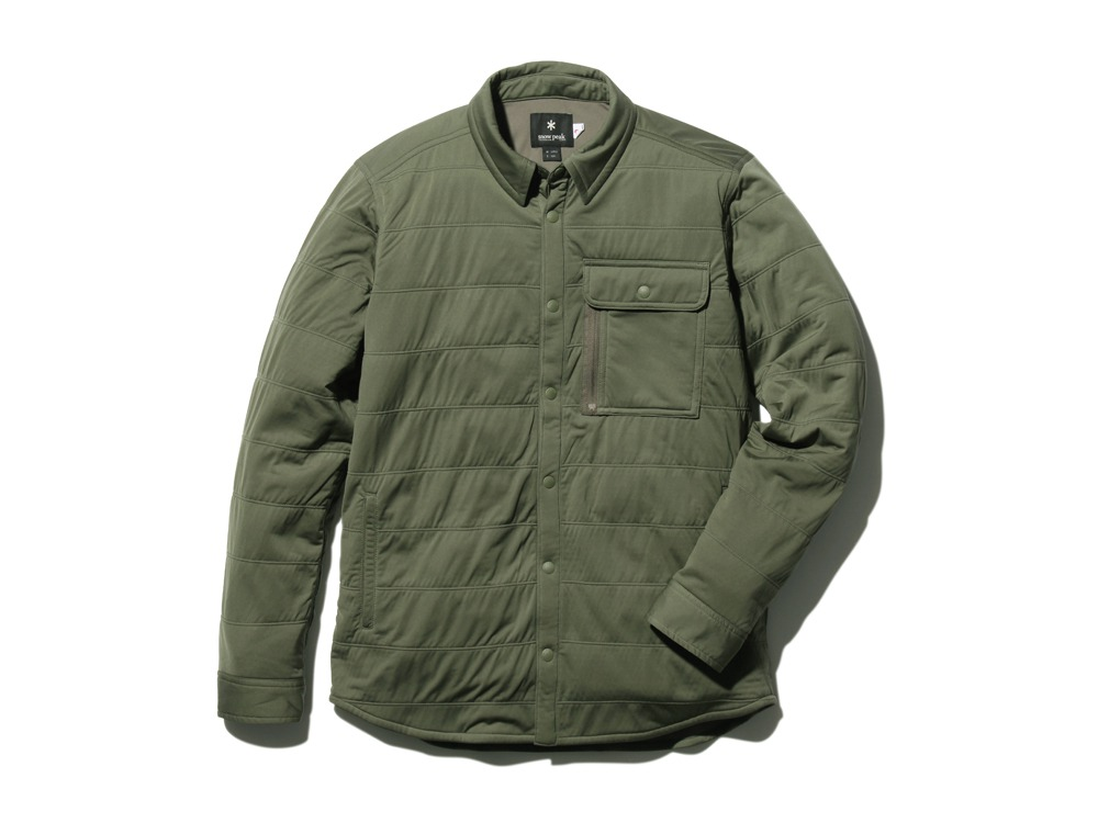FlexibleInsulatedShirt  L Olive0