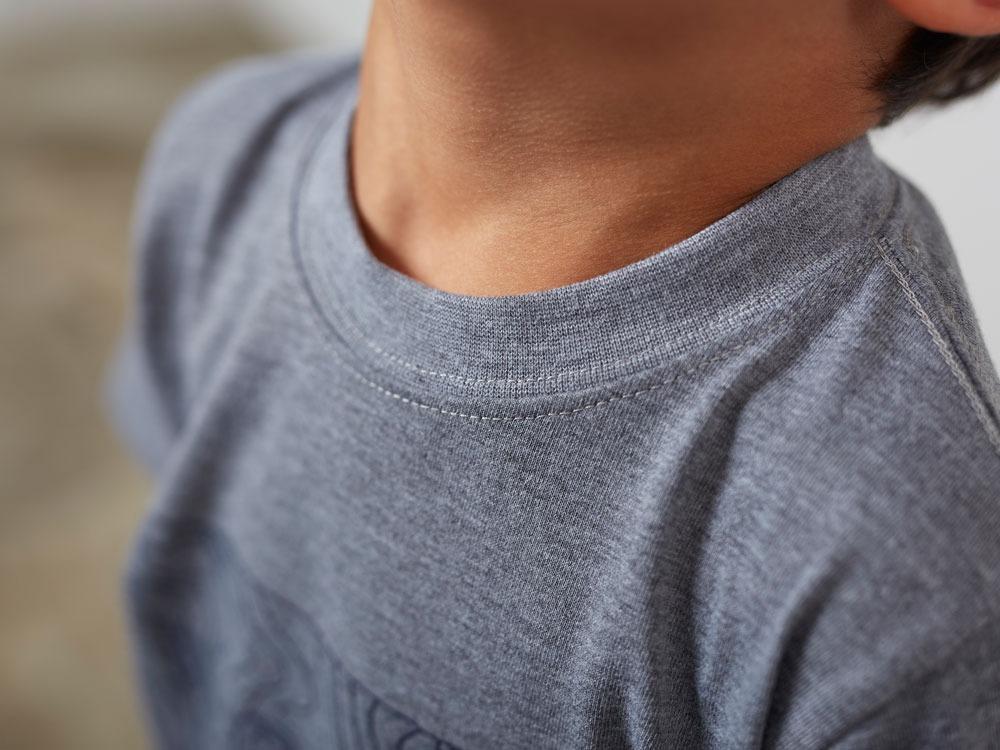 Kid'sQuickDryTshirt/Contour 3 M.grey6