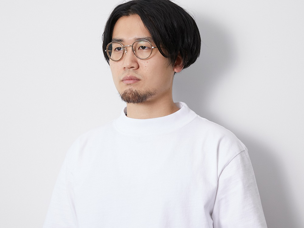 Heavy Cotton Mockneck Tshirt 1 White
