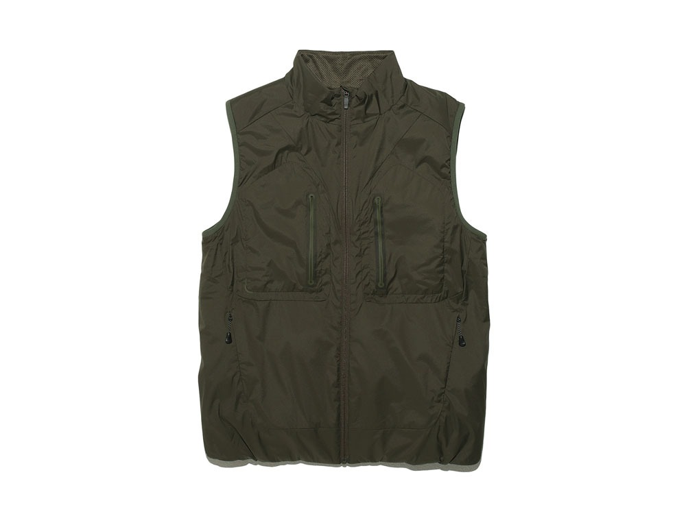 2LOcta Insulated Vest L Olive0