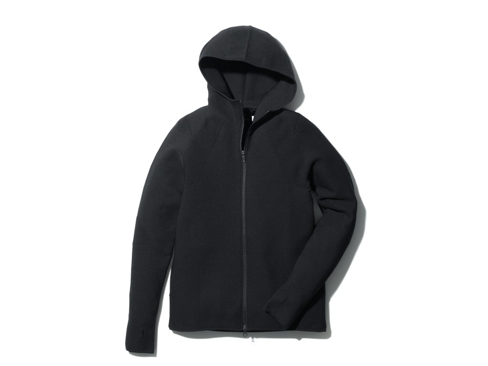 WGStretchKnitJacketS-3 M Black0