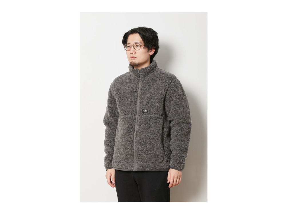Wool Fleece Jacket 1 Grey