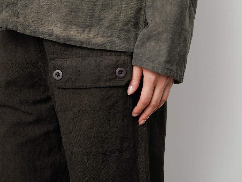 Hand-woven C/L Pants 1 SUMI