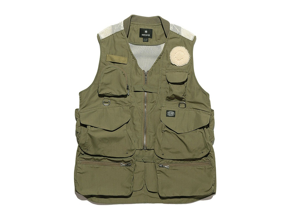 Utility Fishing Vest #2 XL Olive0