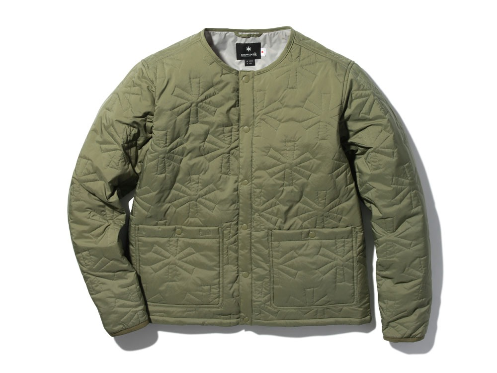Quilting puff Jacket M Olive0