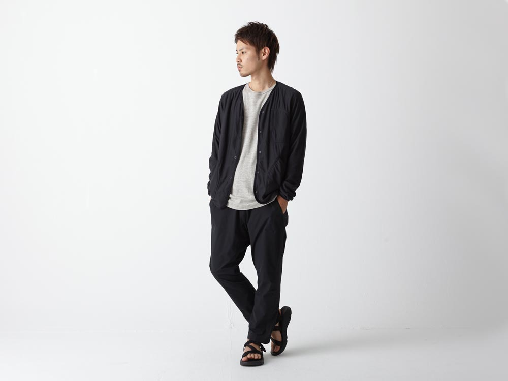 FlexibleInsulated Cardigan M Black1