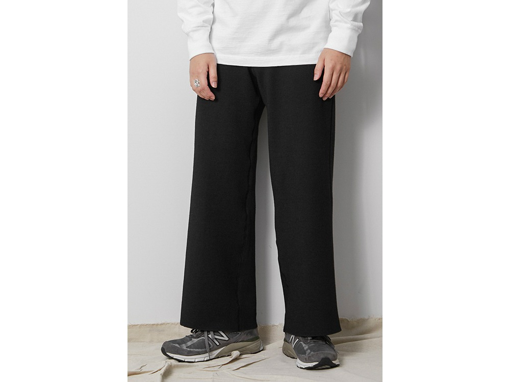Li/W/Pe Pants Wide M Black