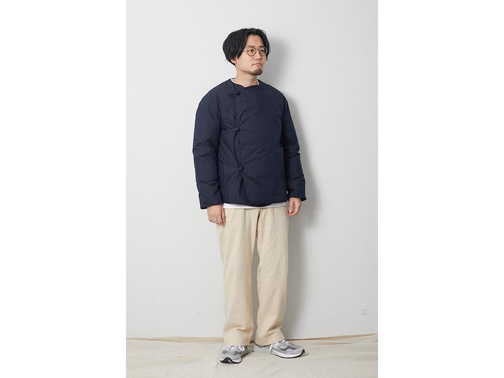 Indigo C/N Down Jacket 1 Indigo